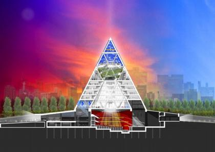 Дворец мира и согласия. Проект