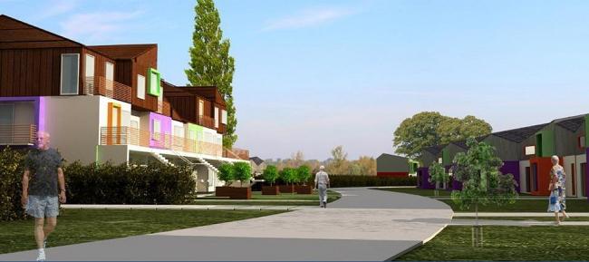 «Пассивный» дом. Конкурсный проект ПТАМ Виссарионова