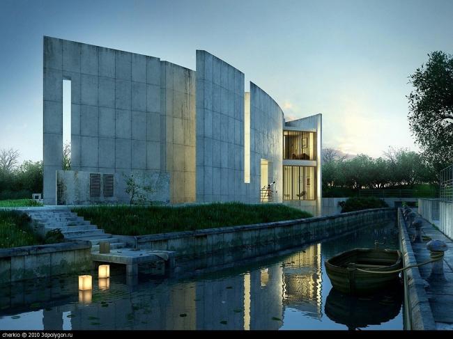 III место «Архитектура и дизайн». GH house. Визуализацию здания, спроектированного бюро Dunsky Ko. Антон Черенко. Киев.
