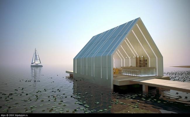 I место «Архитектура и дизайн». «Бар на волнах». Антон Лебедев. Саратов. Изображения предоставлены Consistent Software Distribution