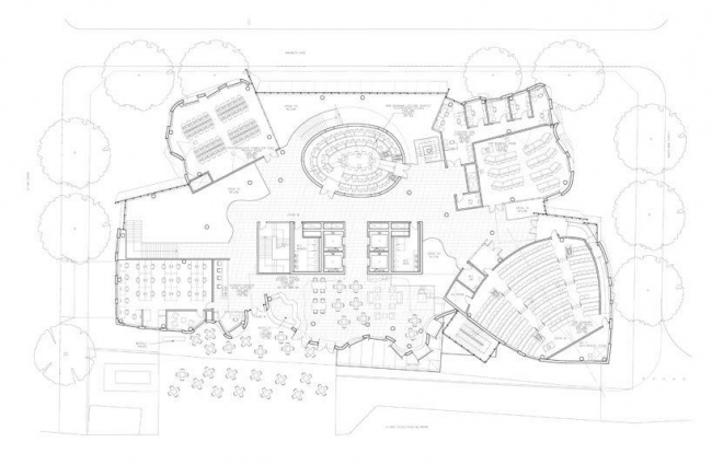 Корпус Чау Чака Винга Сиднейского технологического университета. План 2-го этажа