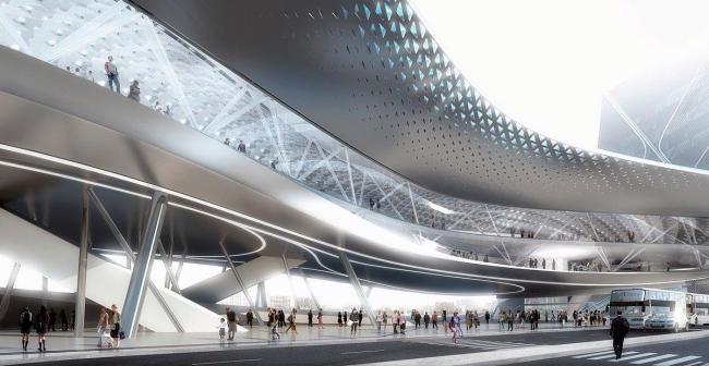 Терминал порта Гаосюна. Конкурсный проект