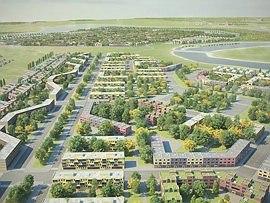 Концепция развития территории Национального Центра Авиастроения © ABD architects