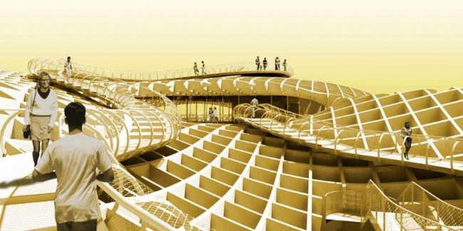 Комплекс Metropol Parasol © J. Mayer H. Architects