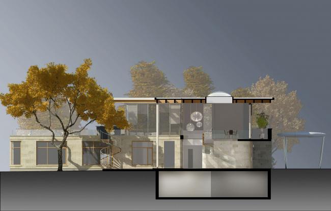 Частный жилой дом в пригороде Мюнхена