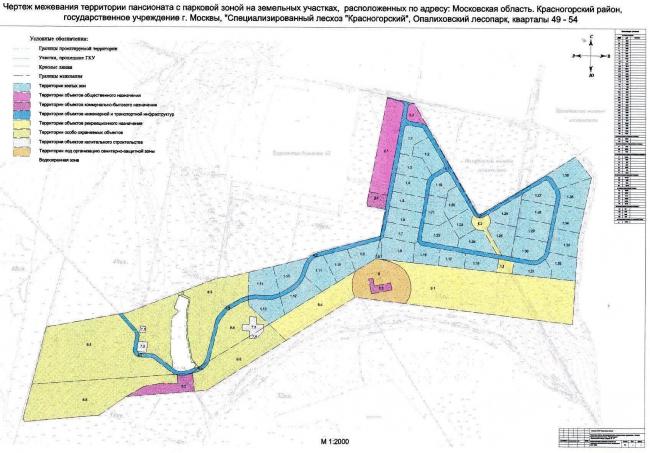 Межевание участка. Источник: сайт администрации Красногорского района