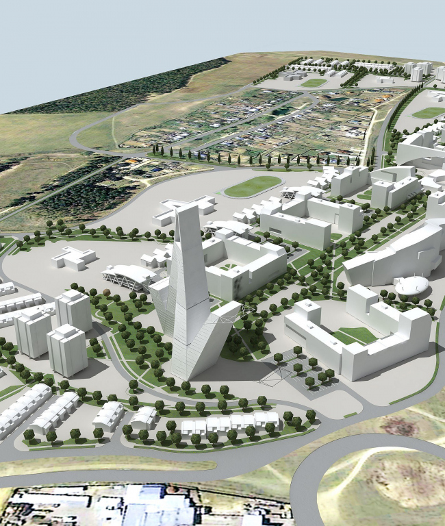 """""""Uzhny"""" district in the project of """"Bolshoe Domodedovo"""""""