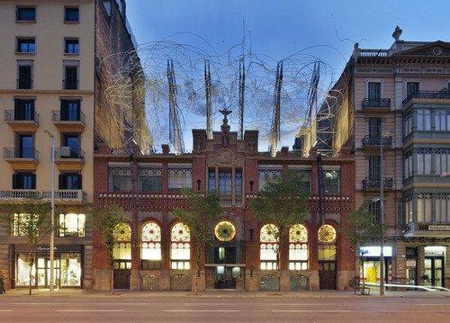 Здание Фонда Антони Тапиеса - реконструкция. Фото © Jose Hevia