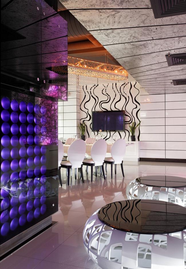 VIP-зал ресторана Sky Lounge © Архитектурное бюро Романа Леонидова
