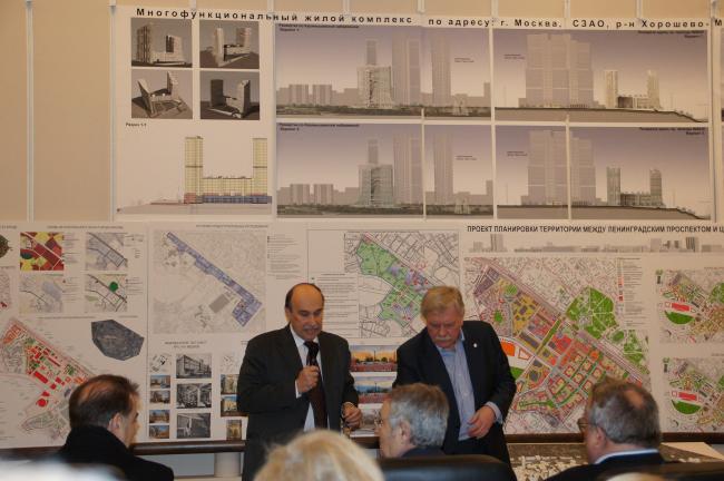 Вручение Премии им. А. Гутнова за 2009-й год. Фото Натальи Коряковской