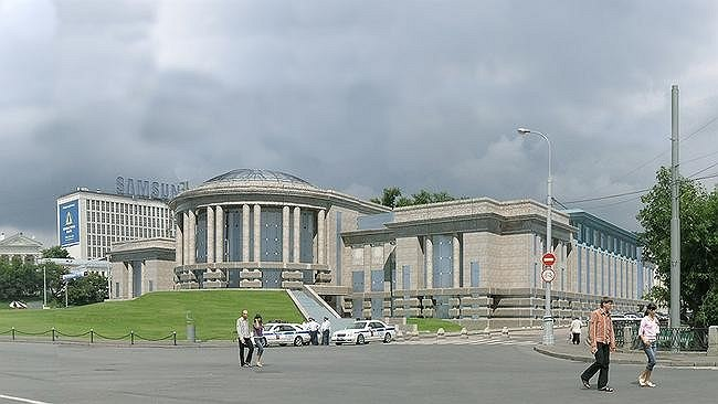 Проект депозитария Музеев Московского Кремля. Отмененный проект