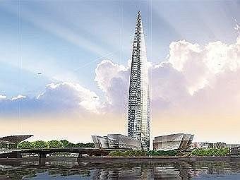 Отмененный проект небоскреба «Охта-центр»