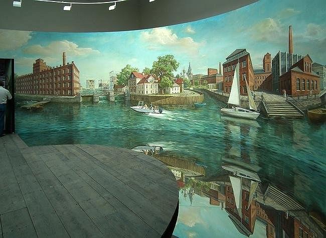 Павильон России на Венецианской биеннале архитектуры. Фрагмент экспозиции