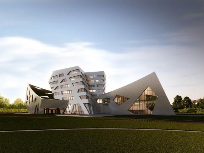 Центральный корпус Люнебургского университета Leuphana © Studio Libeskind