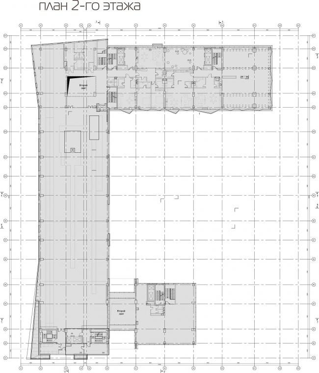 План 2 этажа © АБ «Атриум»