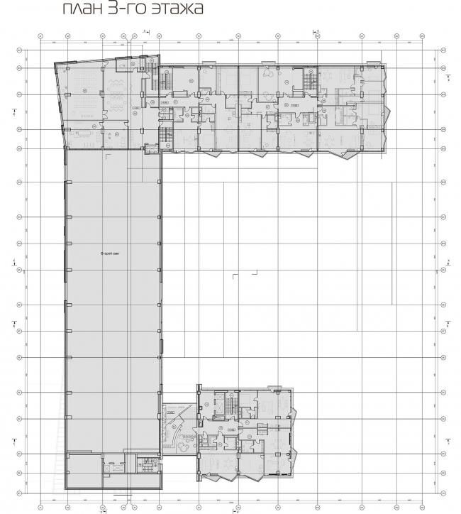 План 3 этажа © АБ «Атриум»
