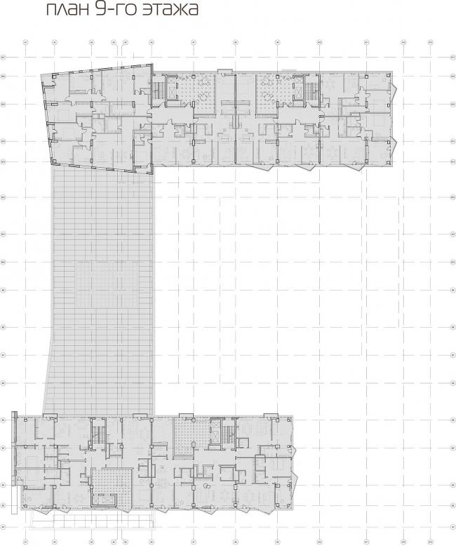План 9 этажа © АБ «Атриум»