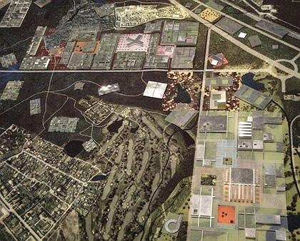 Проект Иннограда в Сколково. Архитектурное бюро ОМА