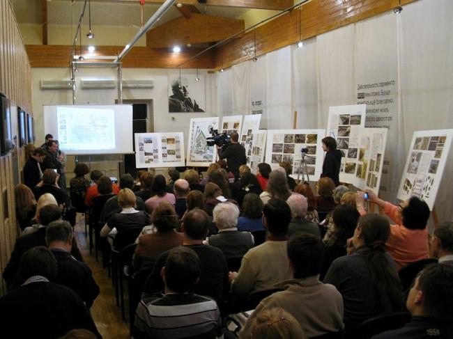 Лекция в Сахаровском центре. Фото: «Архнадзор»