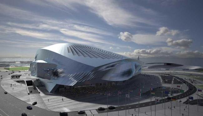 Даляньский международный конференц-центр © Coop Himmelb(l)au. Окончательный проект