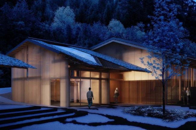 Портлендский японский сад - проект расширения © Kengo Kuma & Associates