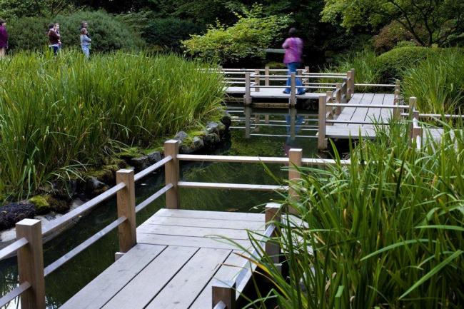 Портлендский японский сад сегодня. Фото © Motoya Nakamura / The Oregonian