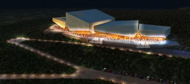 Международный Конференц-центр в Калабаре © HENNING LARSEN ARCHITECTS