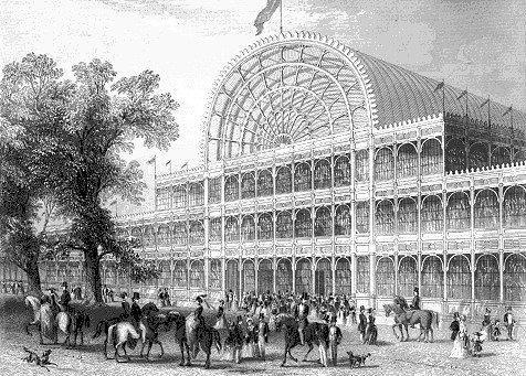 Джозеф Пакстон. «Хрустальный дворец» в Лондоне. 1851