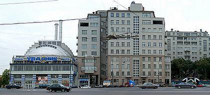 Москва. Дом на набережной (Серафимовича, 2) Фото: Сергей Новиков
