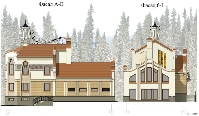 Фасады (эскиз)