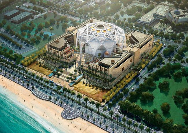 Здание Федерального Национального собрания - парламента ОАЭ © bioLINIA