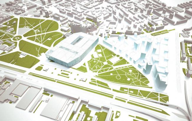 ВТБ Арена парк. Проект реконструкции стадиона «Динамо» (ГУП МНИИП «Моспроект-4»)