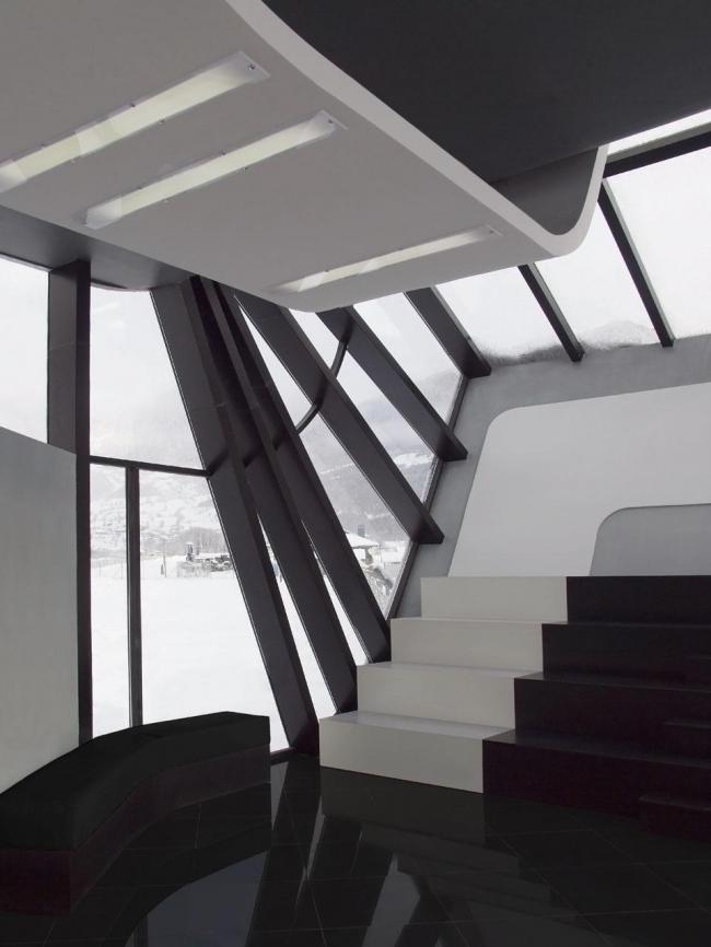 Аэропорт в Местиа © J. Mayer H. Architects