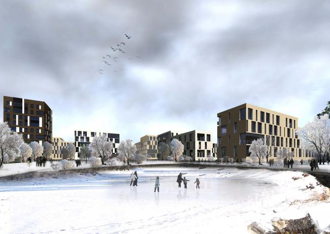 Многоквартирная жилая застройка «Ивановское» © ТПО «Резерв»