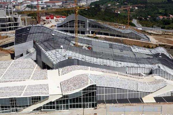 Город культуры Галисии. © Fundacion Cidade da Cultura de Galicia.