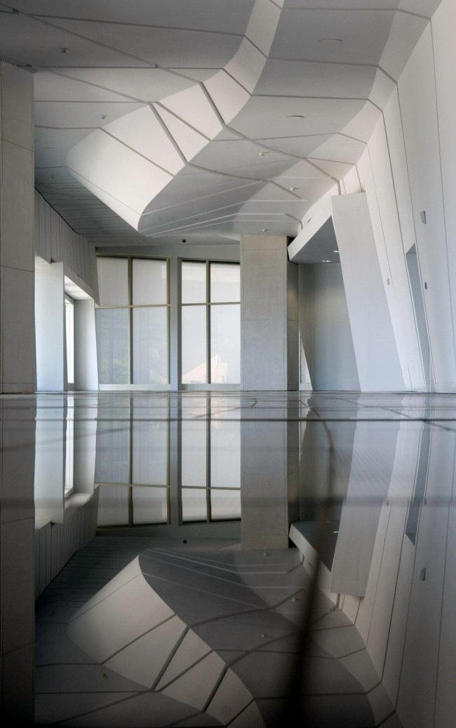 Город культуры Галисии. Национальный архив. Зал «Путь Св. Иакова» Фото © Fundacion Cidade da Cultura de Galicia