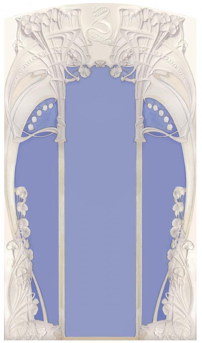 Эскиз зеркала