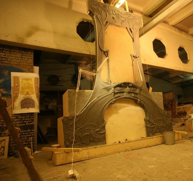 Модель камина