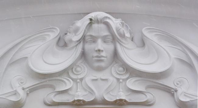 Фрагмент декора фасада