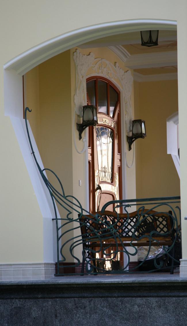 Вид на входную дверь