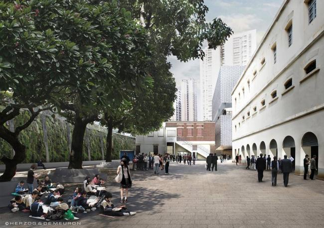 Центральный полицейский участок - реконструкция. Проект 2010 © Herzog & de Meuron