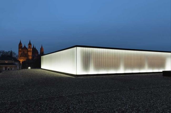 Культурный и конференц-центр г. Вормс. © gmp - Von Gerkan, Marg and Partners · Architects