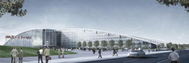 Штаб-квартира НАТО. Проект 2008 SOM © Archimation