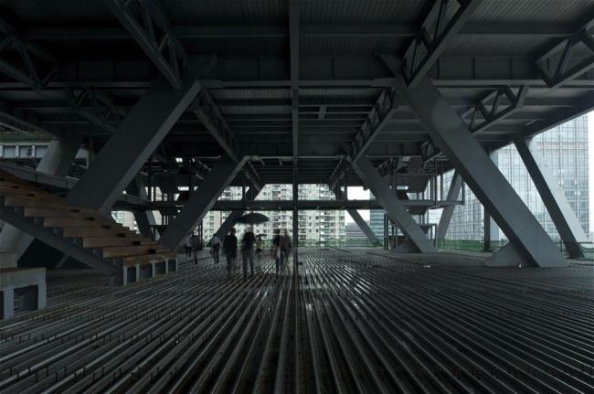 Биржа города Шеньчжень в процессе строительства © ОМА