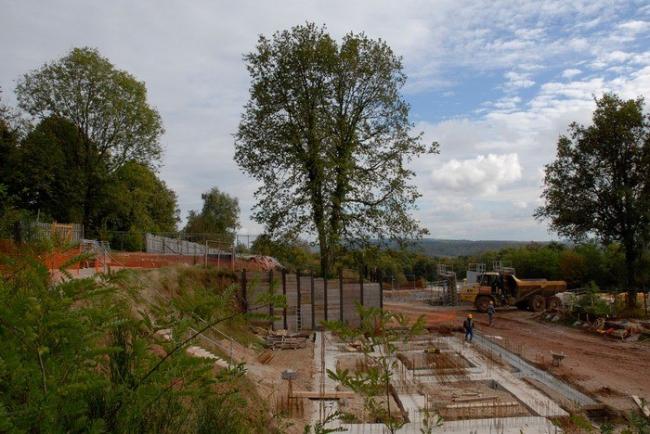 Монастырь ордена кларисс в процессе строительства © Quentin Coussirat