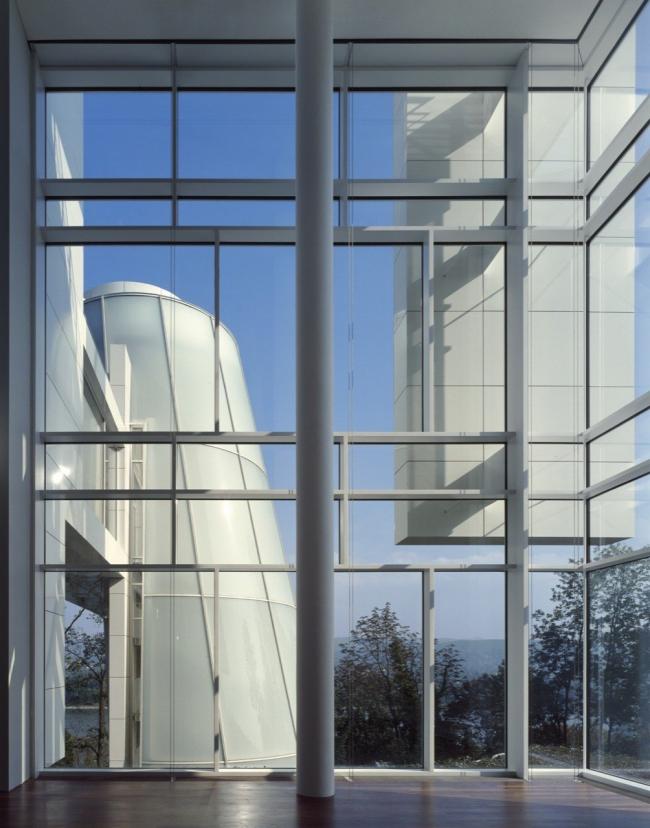 Музей Ханса Арпа Courtesy of Richard Meier & Partners Architects, © Roland Halbe