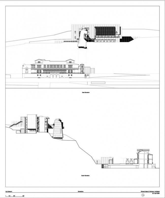 Музей Ханса Арпа © Richard Meier & Partners Architects LLP