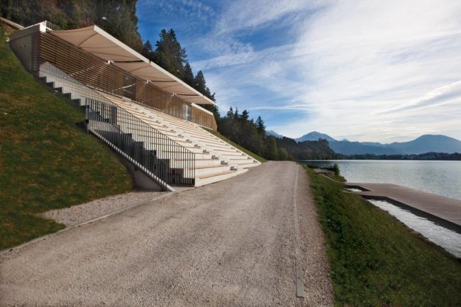 Центр гребного спорта в Бледе. Фото: MultiPlan arhitekti