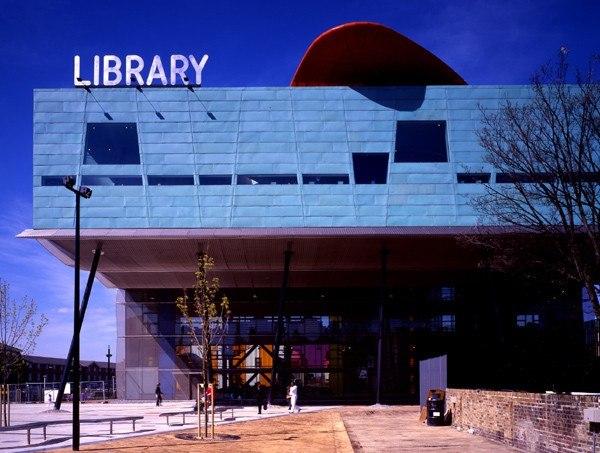Peckham Library, London.   Photo- Alsop Architects