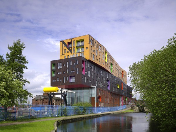 CHIPS, New Islington, Manchester.  Photo- Christian Richters